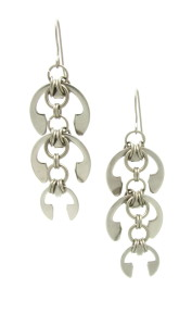 Laburnum Earrings by Wraptillion, from the Mechanical Garden collection