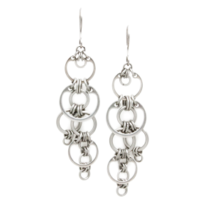 Stream of Bubbles Earrings