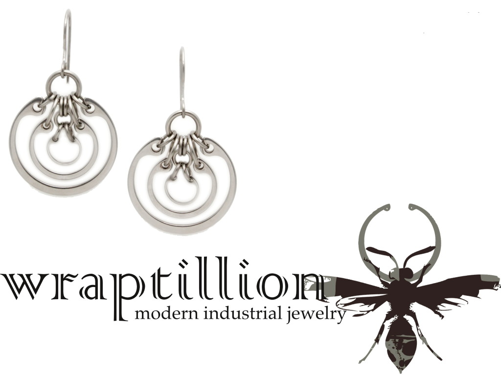 wraptillion: modern industrial jewelry