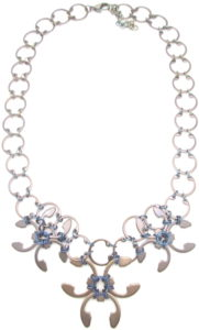 Garland Necklace by Wraptillion (Heat Patina Collection)