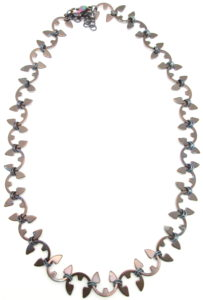 Vine Necklace by Wraptillion (Heat Patina Collection)
