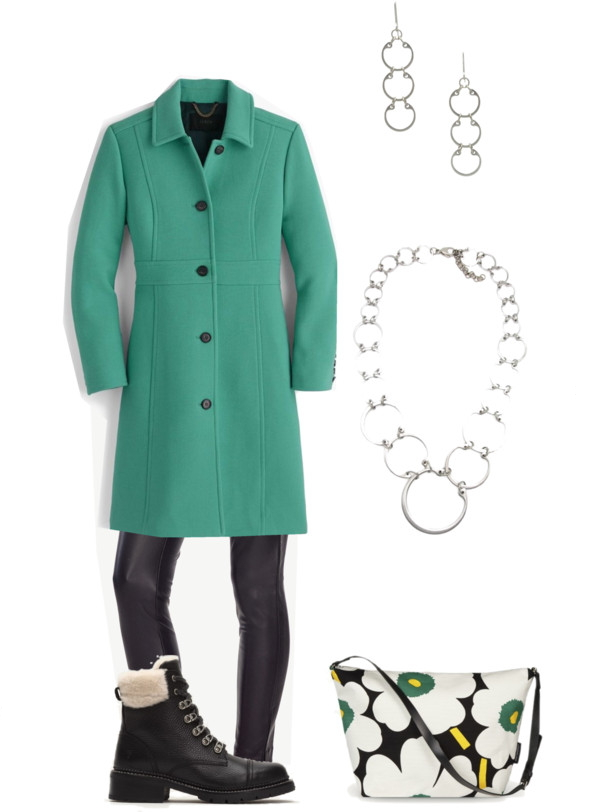 travel outfit for Helsinki in winter