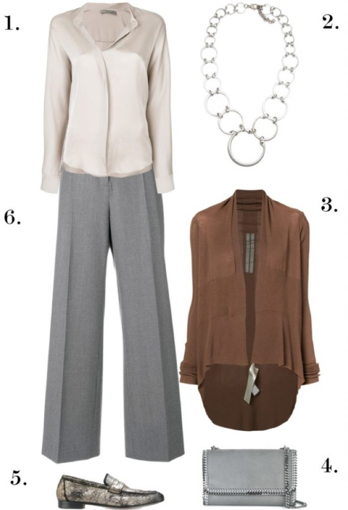 Modern Classic Professional Style | One Necklace, Six Ways: Chic, Edgy Styles to Wear to Work, Dinner, and Beyond