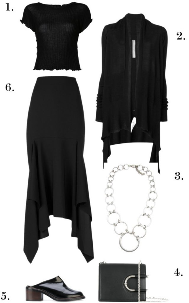 Professional Style Goth | One Necklace, Six Ways: Chic, Edgy Styles to Wear to Work, Dinner, and Beyond