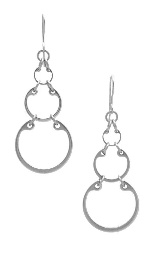 Graduated Earrings by Wraptillion