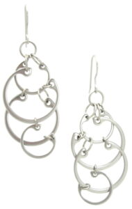 Clustered Circles Earrings by Wraptillion, from the Circling collection