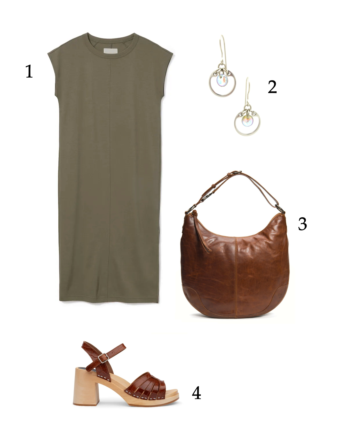 easy polished neutral outfit for summer